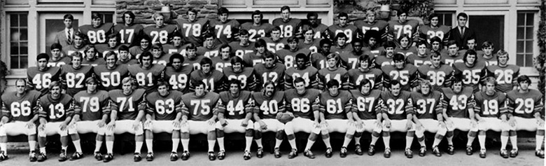 1971 Cornell Big Red Football