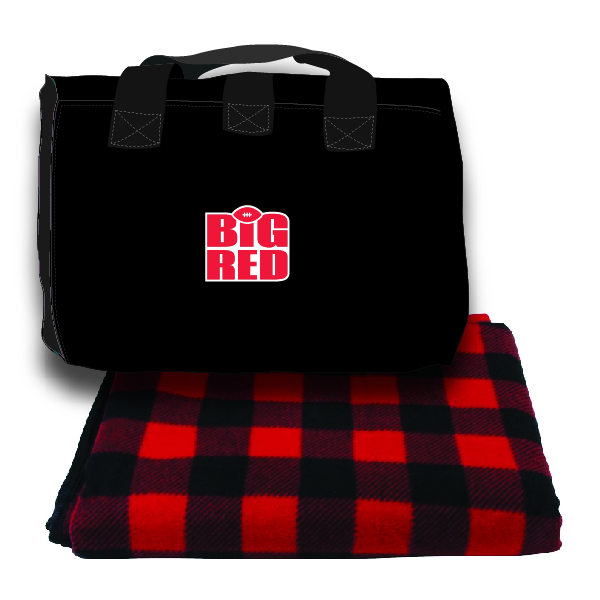 Fleece Picnic Blanket w/ Bag
