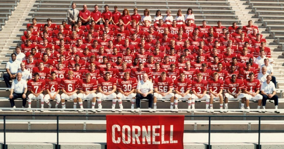 Cornell Football 1988-1989<br>Ivy League Champions