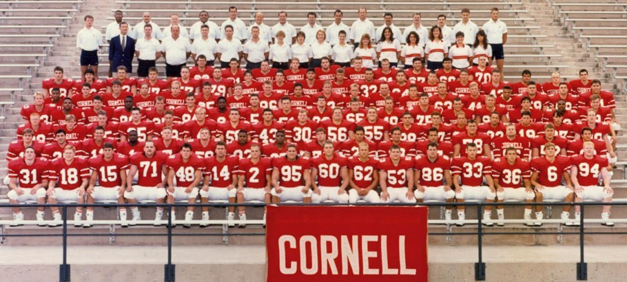 Cornell Football 1990-1991<br> Ivy League Champions